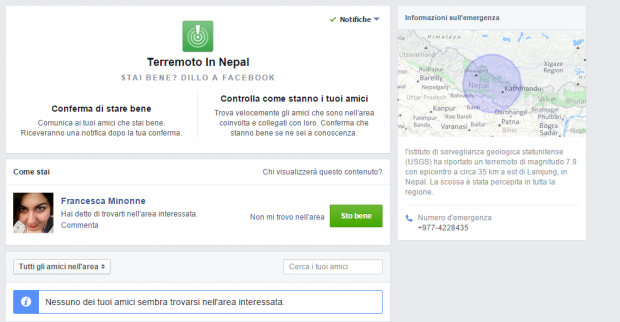 Stai bene  per Terremoto in Nepal_gen