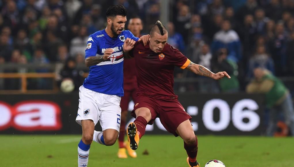 Roma Sampdoria streaming probabili formazioni