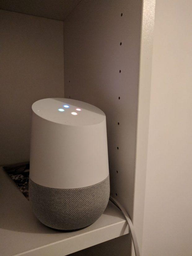 google home primo piano